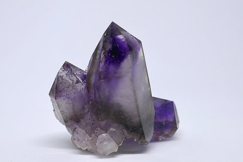 Japanese Twin Quartz var. Amethyst Crystal