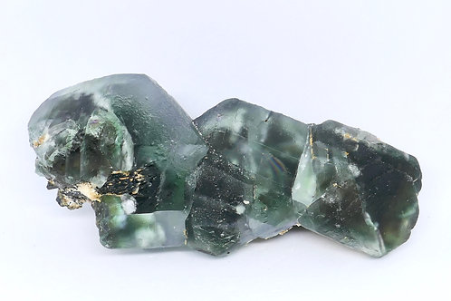Green Octahedral Fluorite