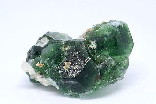 Fluorite with Goshebite