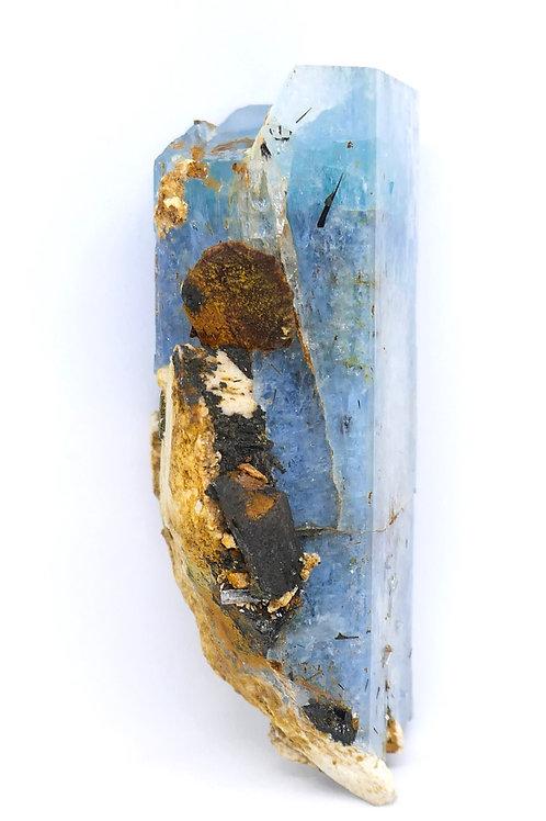 Large Beryl var. Aquamarine Crystal