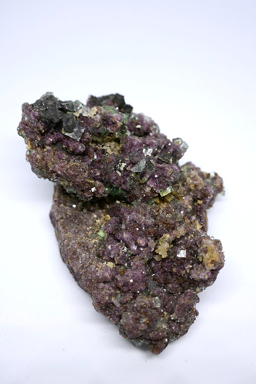 Violet and Green Fluorite