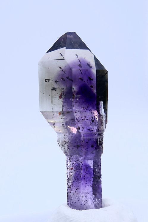 Quartz - Amethyst with Phantom