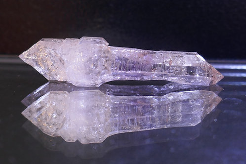 Quartz - Amethyst Window Double-ender scepter