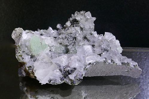 Calcite and Epidote with Quartz