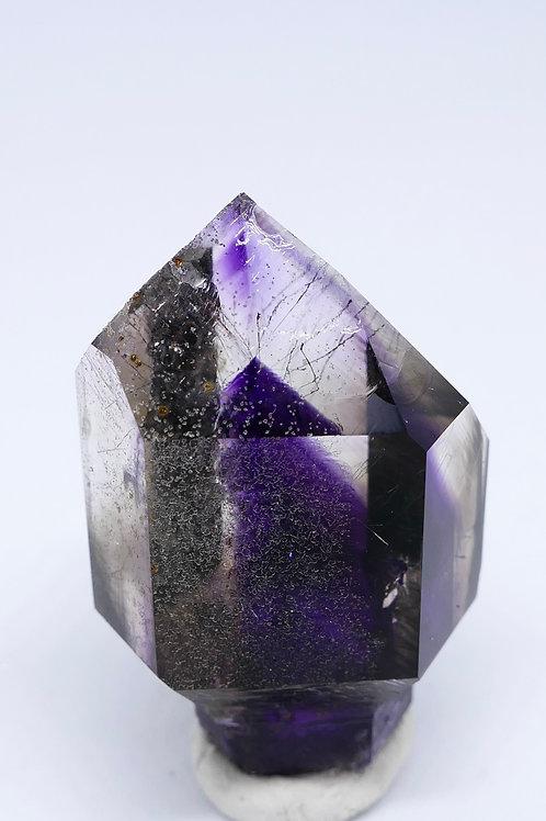 Quartz - Amethyst with Exceptional Phantom