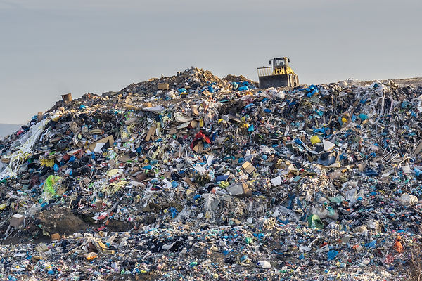 Pollution Concept. Garbage Pile In Trash Dump Or Landfill..jpg