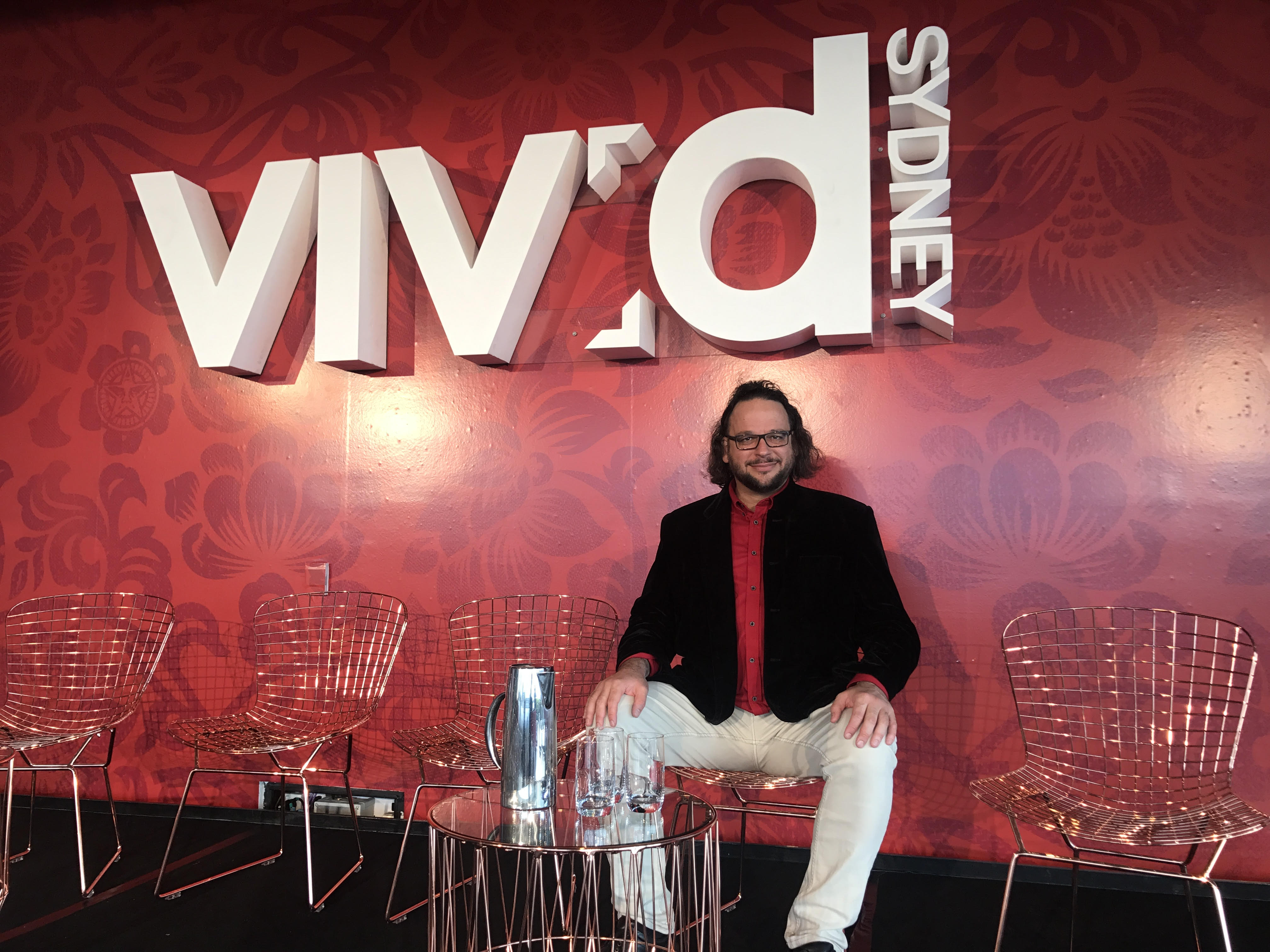 Professor Ghil'ad Zuckermann, Vivid Ideas Sydney, 2017