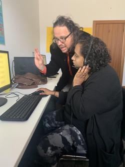 Creating Talknology to assist the Ba