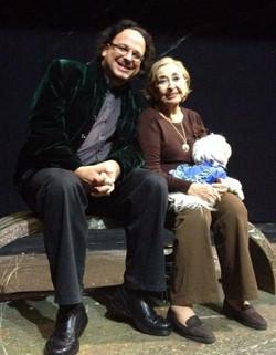 Professor Ghil'ad Zuckermann and Leah Koenig, Tel Aviv, 2014