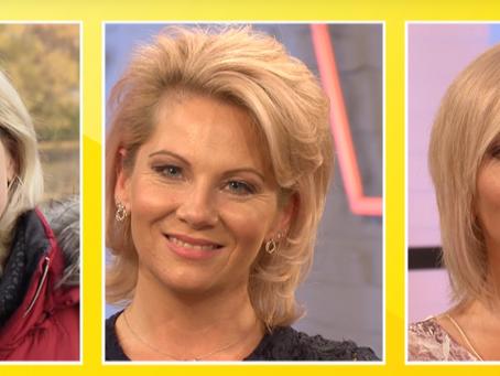 Neue Varianten Frisuren bei einer ovalen Gesichtsform - doch ist die Kandidatin zufrieden?