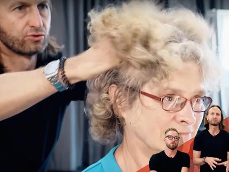 vorher-nachher: Flottes Umstyling – trotz grauen Haaren jung aussehen? Das geht?