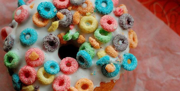 Fuit Loop 100% Soy Wax Melt Donut