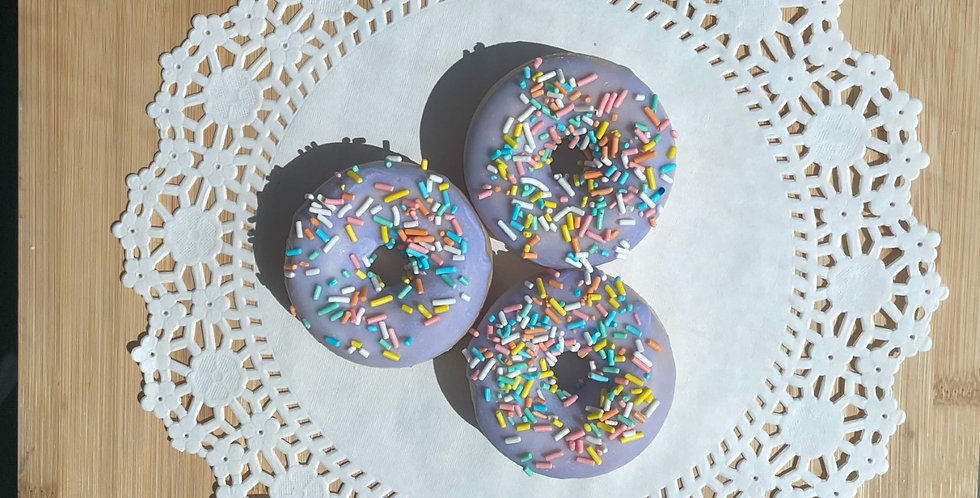 Cotton Candy 100% Soy Wax Melt Donut