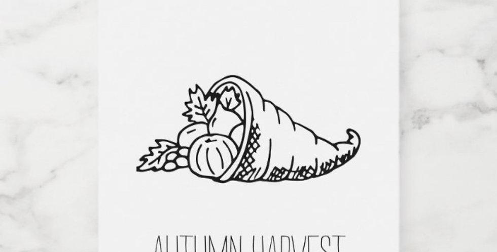 Autumn Harvest Wax Melt