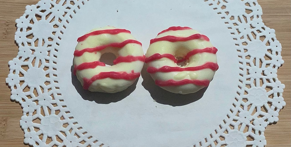 Lemon Strawberry 100% Soy Wax Melt Donut