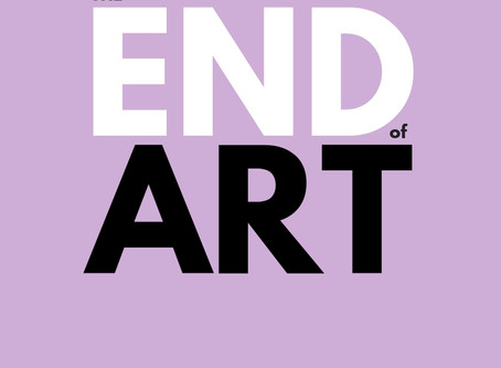 a review on 'The End of Art' and thereafter