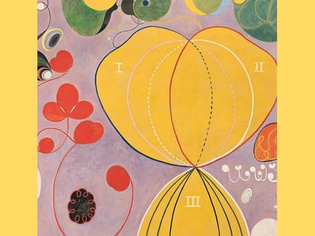 A cosmologia na arte de Hilma af Klint