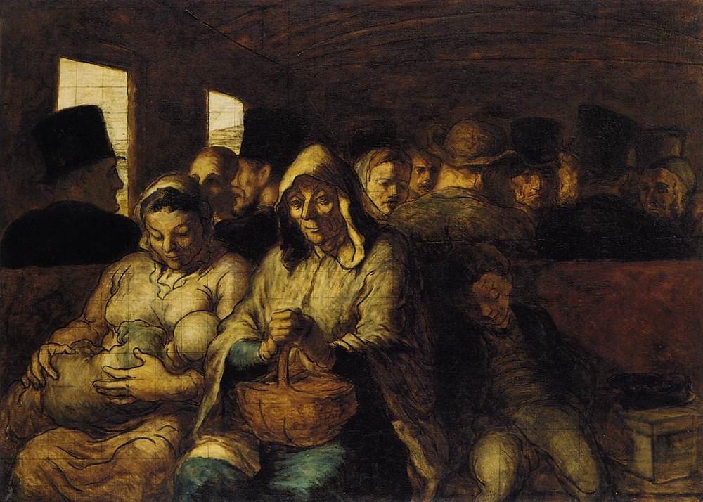 Vagão de 3a classe Daumier.
