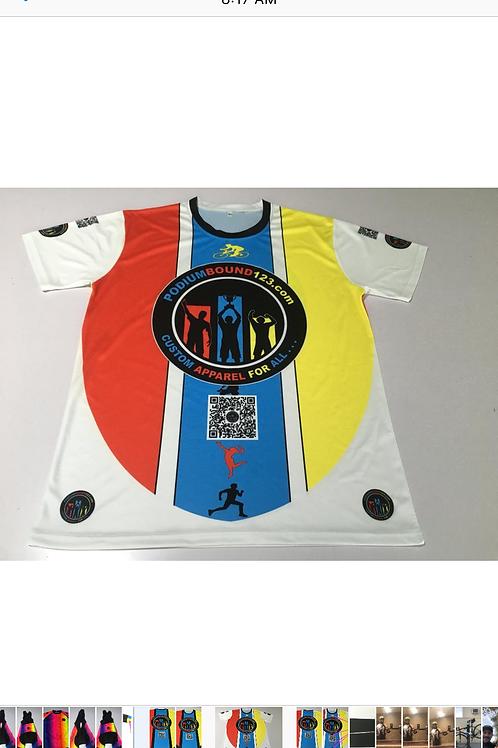 Short Sleeve: Cycling/ Running/ Walking/ Basketball/ Volleyball/ Casual Wear