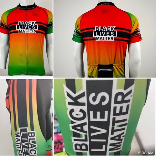BLM RD/BLK/GRN Cycling Kit