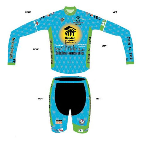Package III Jersey, Bib Shorts, and either Arm or Leg Sleeves