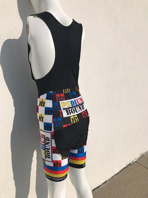 """Bike/Cycling: """"Square Bizz"""" Short Pants (Bib Only)"""