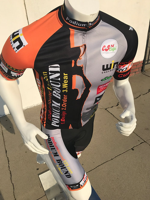 Bike/Cycliny: (orange) Incohootz Cycling Kit