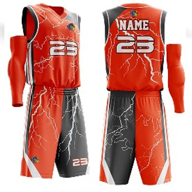 Basketball Uniform - 102 Lightning