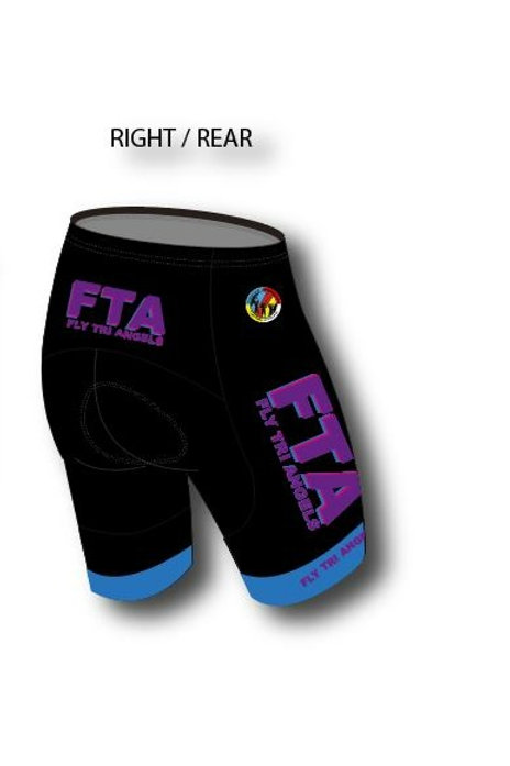 5 Tri Shorts with padding (Blue)