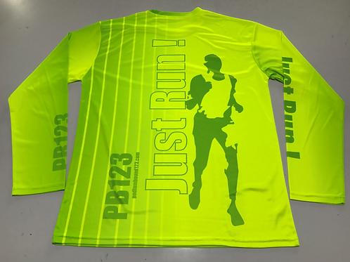 Hi Glo Running Shirt- Long Sleeve
