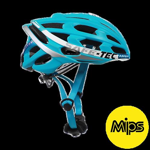 Bike/Cycling: Helmet-Blue Safe Tech TYR-3 Helmet