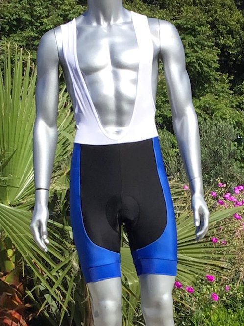 $40 Bike/Cycling: Dark Blue Bib Shorts