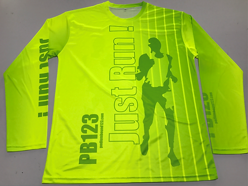 High Glo - Running Long Sleeve shirt