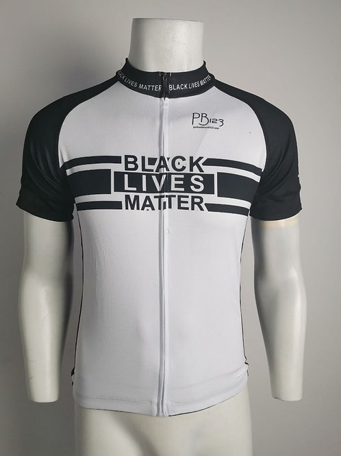 BLM White/Black Jersey