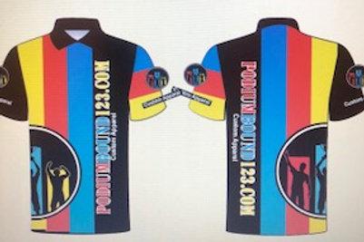 Polo: Black TeamBlueRedYellow