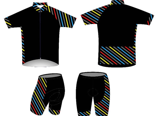 """Bike/Cycling: """"Early Rizer"""" Jersey & Shorts Set"""