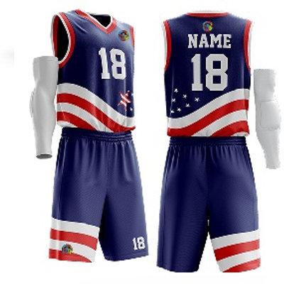 Basketball Uniform - 101 USA