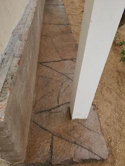 LD kollar wall and slab