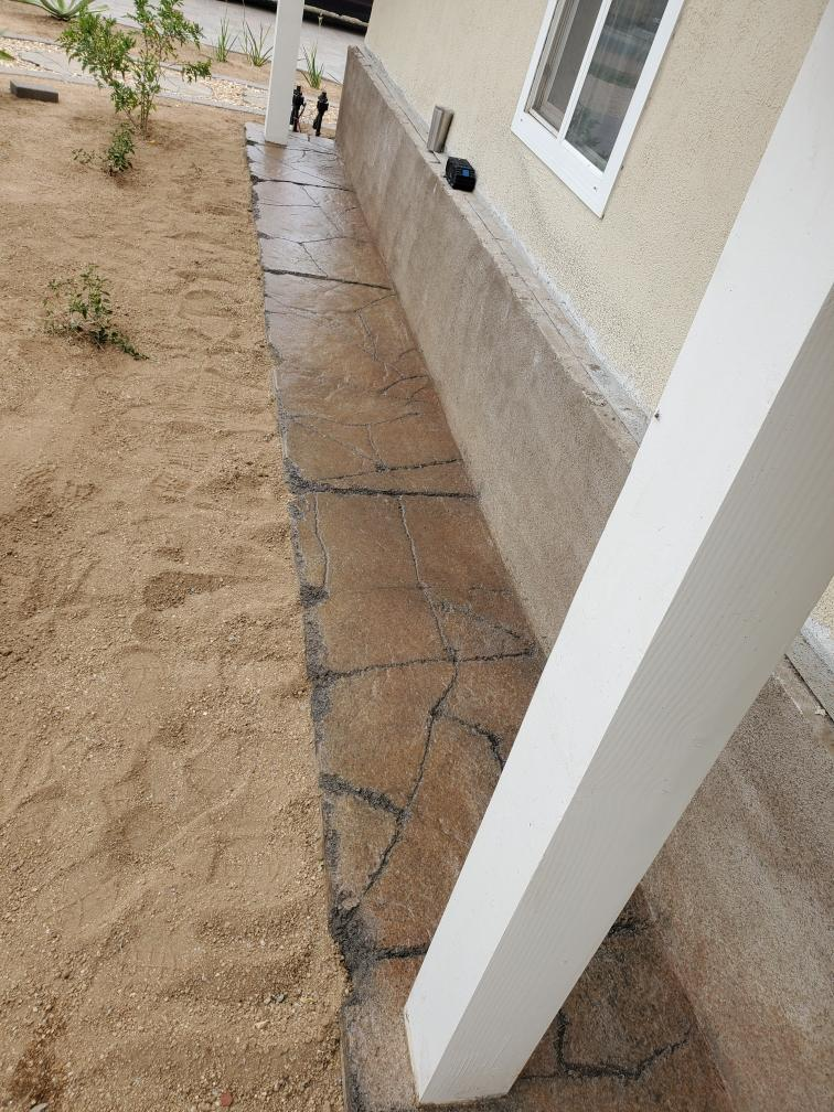 LD kollar cement slab 1