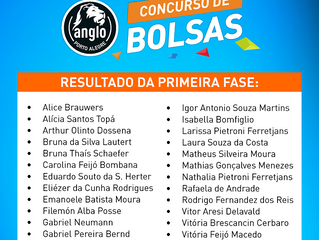Resultado do Concurso de Bolsas para as turmas Anglo Med e Extensivo 2019
