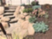 hardscape, steps, plants, landscape design