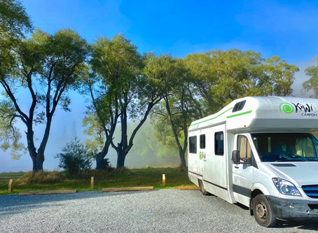 The South Island explored by Motorhome, New Zealand, Part 1