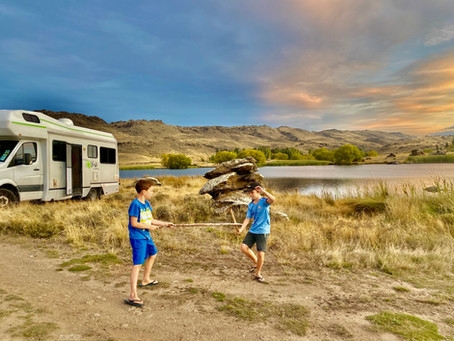 The South Island explored by Motorhome, New Zealand, Part 2