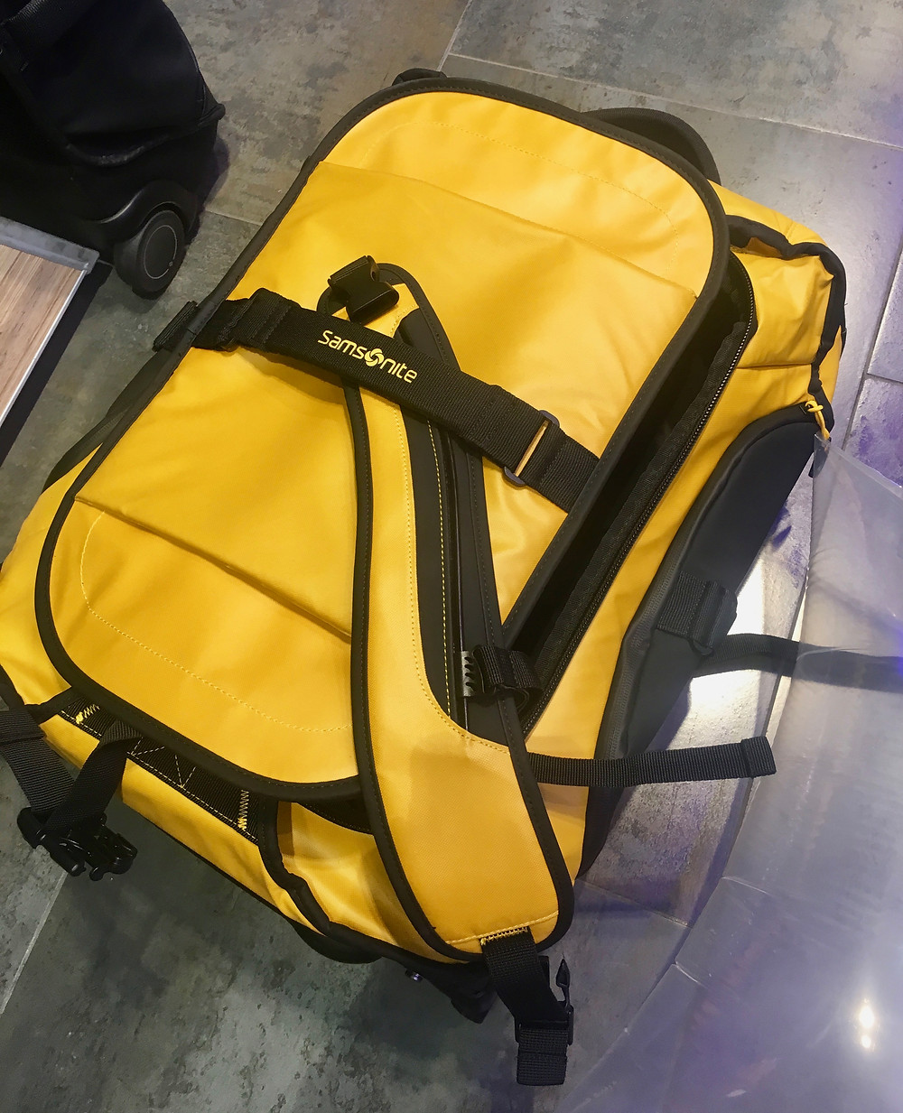 Luggage backpack suitcase - will it fit? One year packing