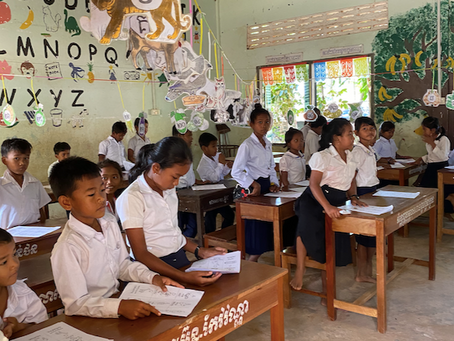 Ten Thoughts About School Visit in Cambodia - From a Kid's Perspective