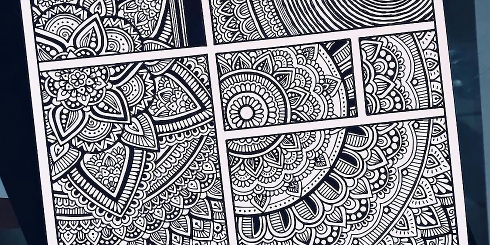 Zentangle at Sticks and Stones!