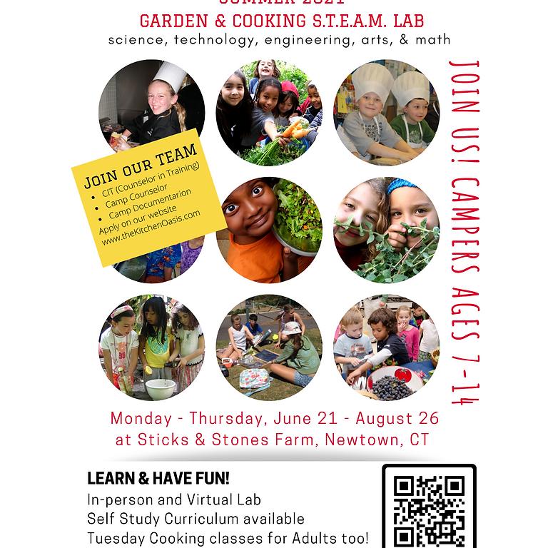 Kid's Kitchen Oasis Summer Camp