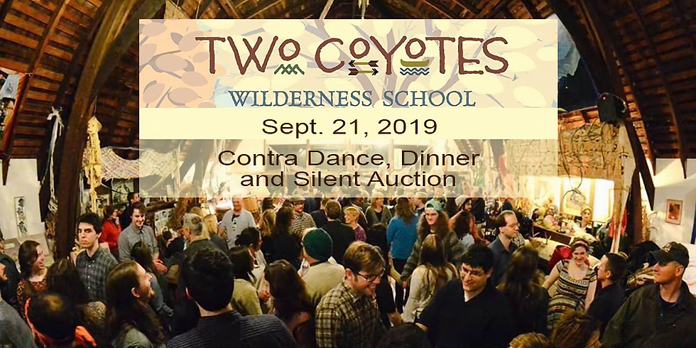 Two Coyotes Contra Dance Dinner and Fundraiser!