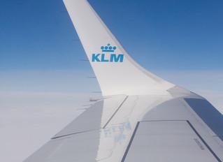 På vingene med KLM