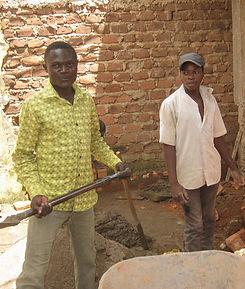 Skolebygging ved senter 1 i Kampala